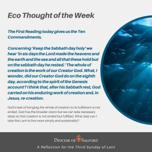 Eco Thought of the Week 7th March